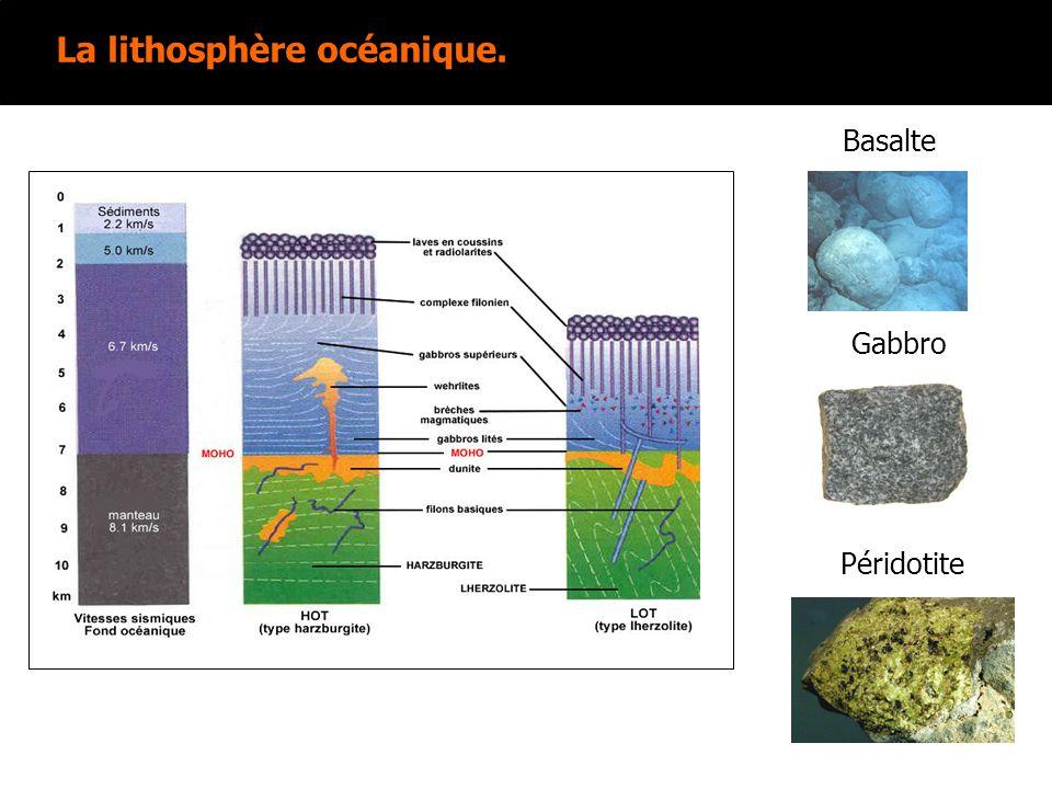 2 eme exemple: Basaltes de point chaud. Série alcaline. Hawaii