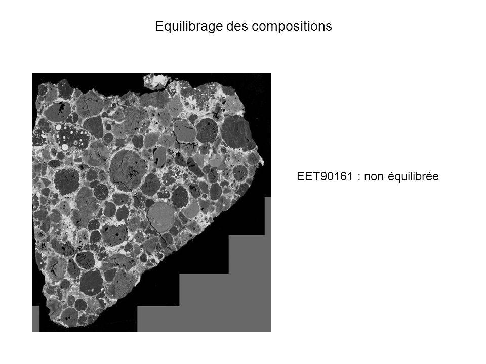Equilibrage des compositions EET90161 : non équilibrée