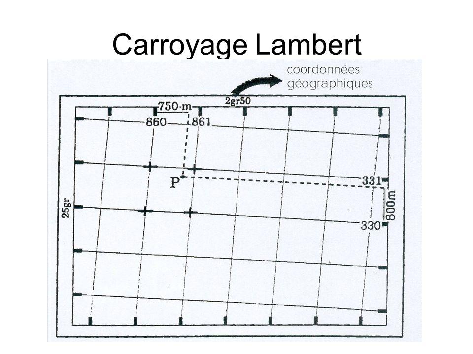 Carroyage Lambert