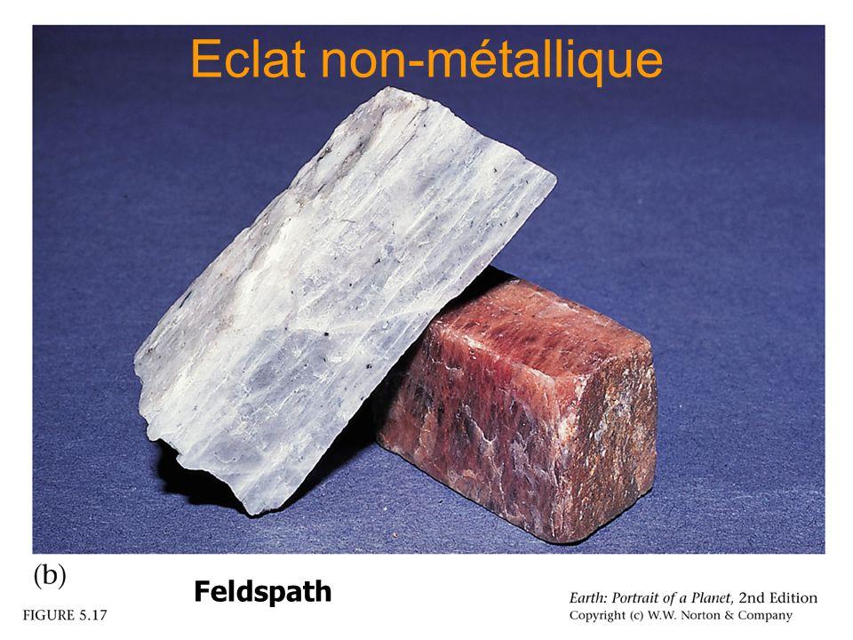 Eclat non-métallique Feldspath