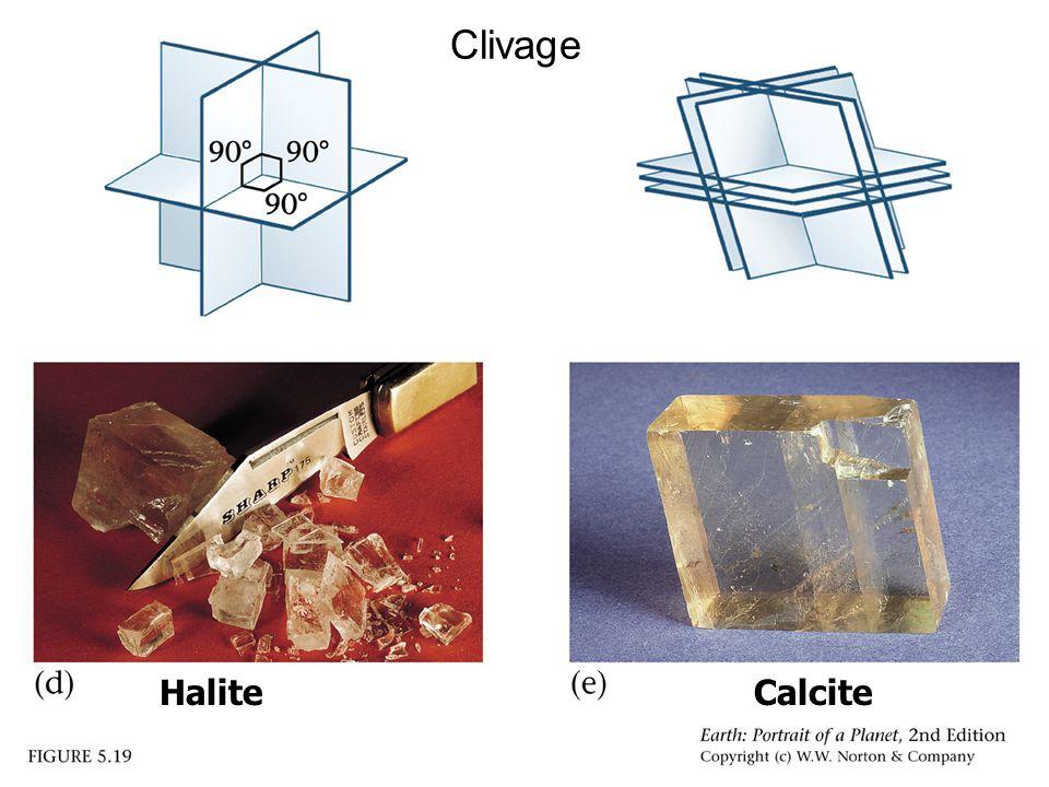 Clivage HaliteCalcite