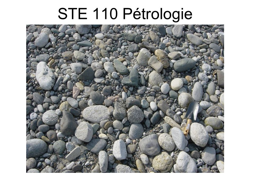 STE 110 Pétrologie