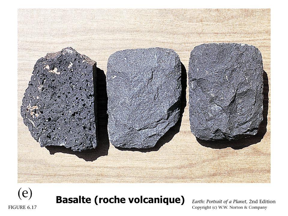 Phyllite mica-schist gneiss migmatite Roches métamorphiques