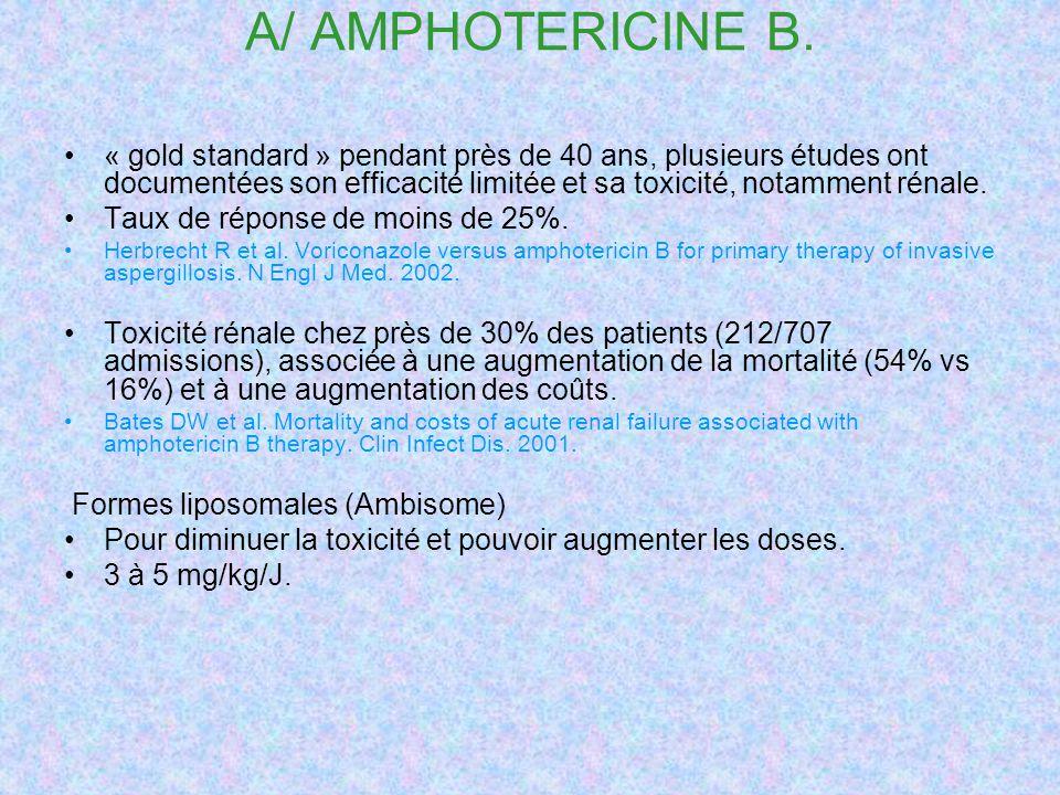A/ AMPHOTERICINE B.