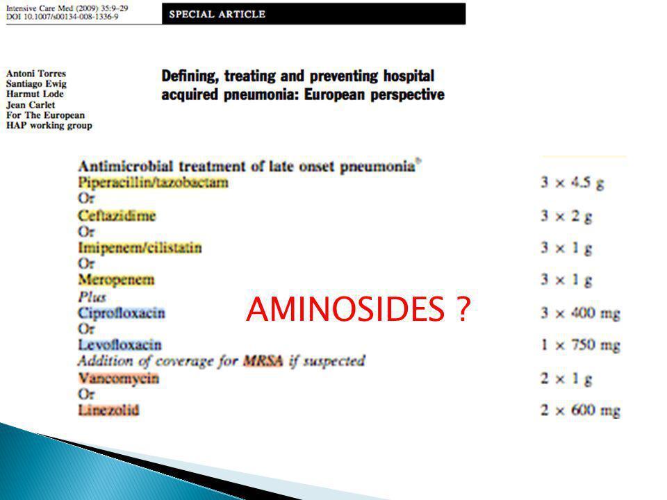 AMINOSIDES ?