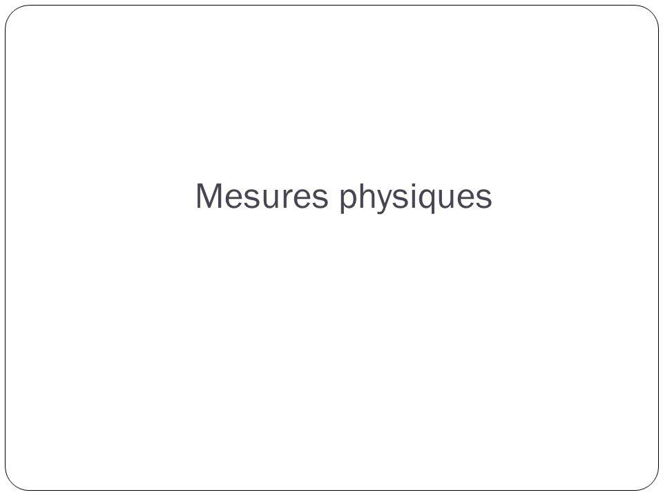 Mesures physiques