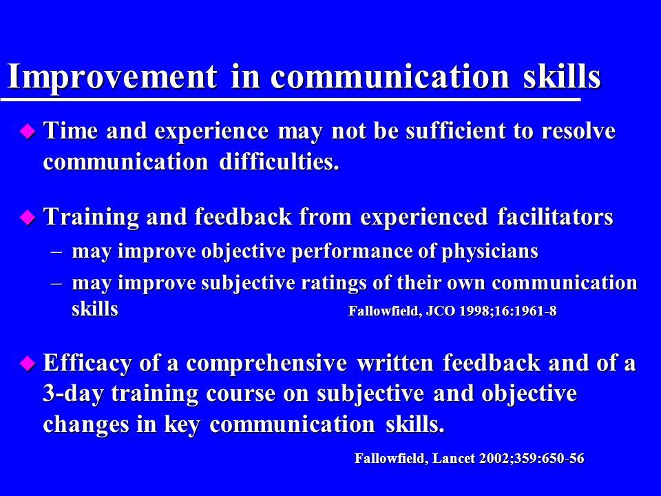 4. Vers une approche contextuelle de la relation médecin - malade Améliorer avant la qualité de linformation et la communication