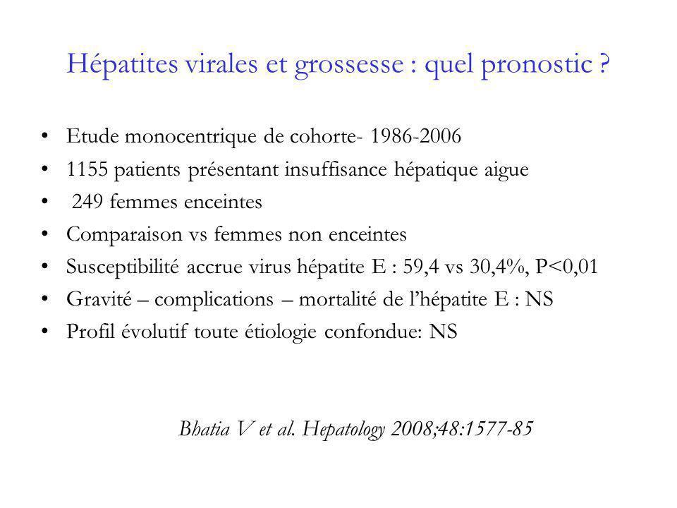 Transplantation : procédure dexception Données sporadiques –8 HELLP transplantés – 2 décès précoces – 1 re-transplantation Shames et al.