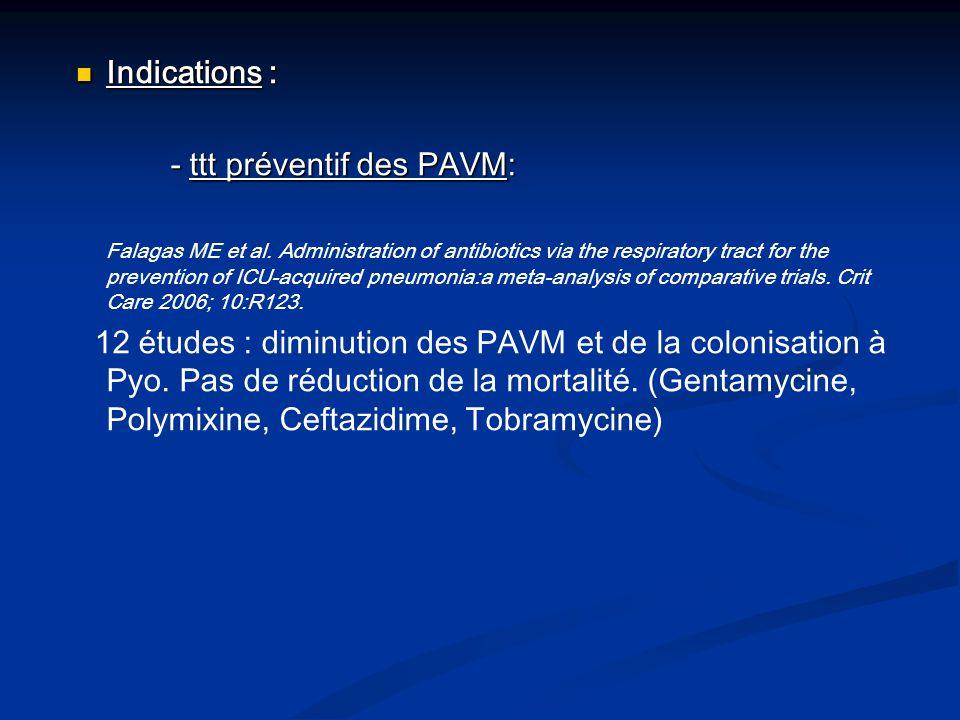 - ttt curatif des PAVM et VAT - ttt curatif des PAVM et VAT Ioannidou E et al.