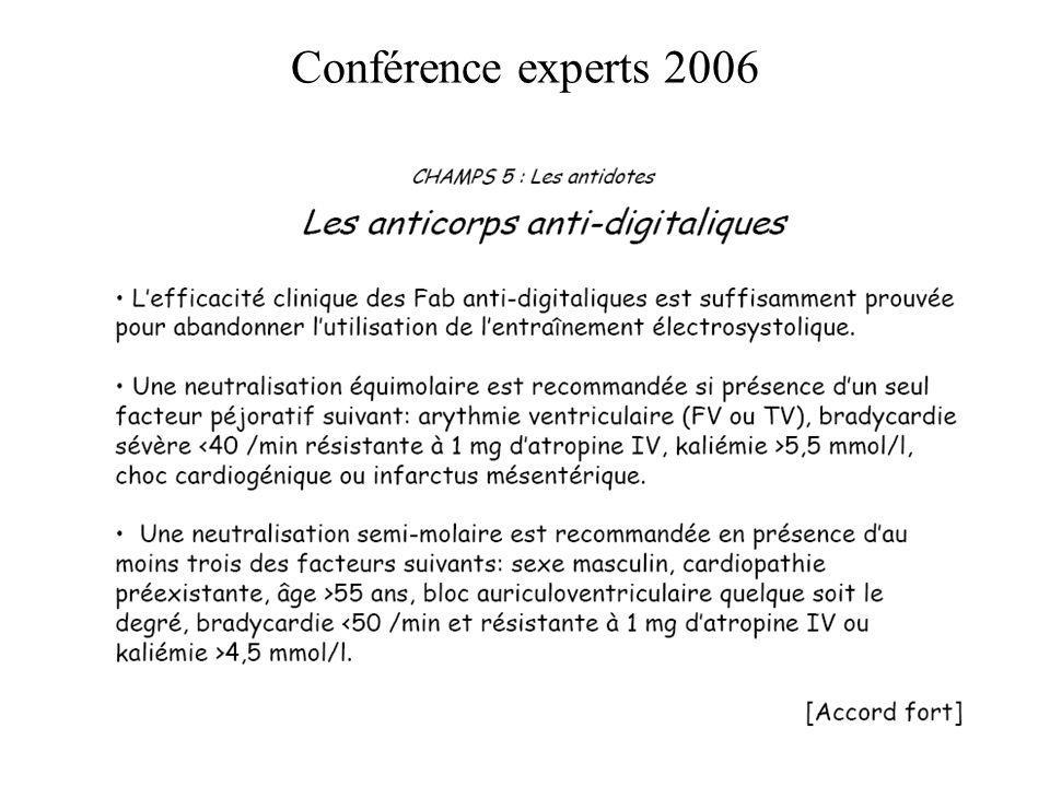 Conférence experts 2006
