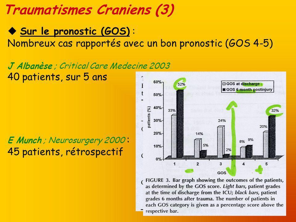Traumatismes Craniens (4) Sur le scanner :