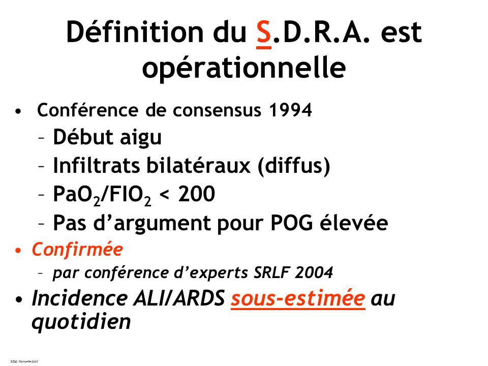 DESC Montpellier2005 Définition du S.D.R.A.