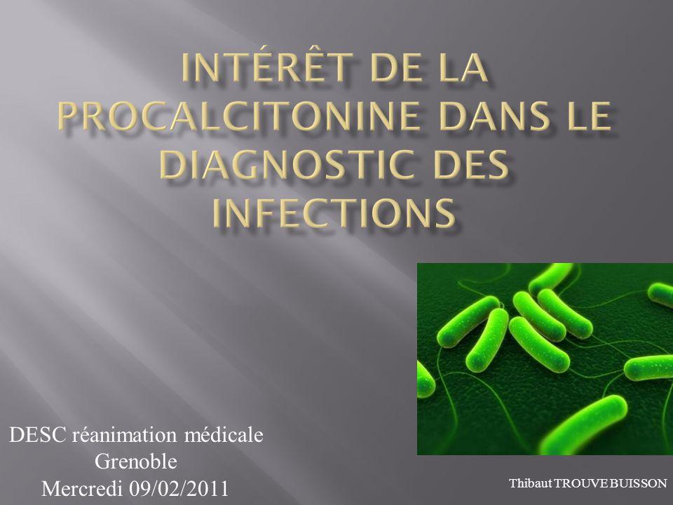 DESC réanimation médicale Grenoble Mercredi 09/02/2011 Thibaut TROUVE BUISSON