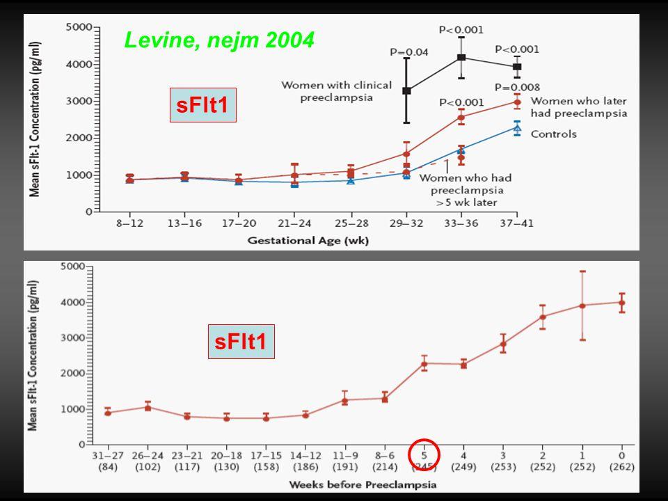Levine, nejm 2004 sFlt1
