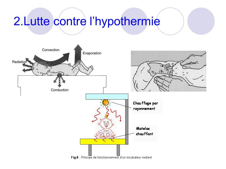 2.Lutte contre lhypothermie