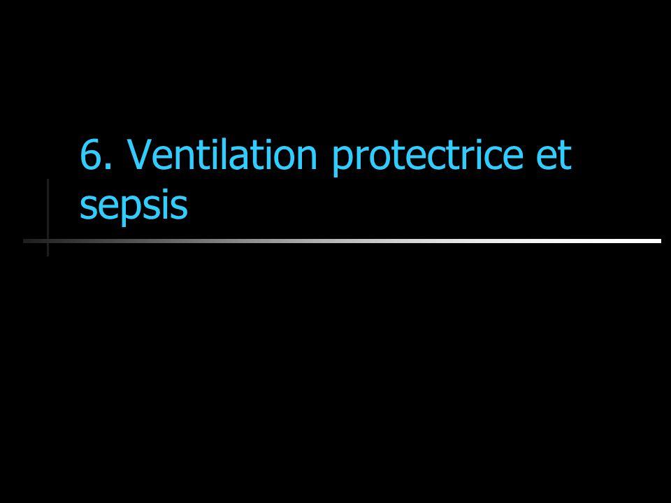6. Ventilation protectrice et sepsis