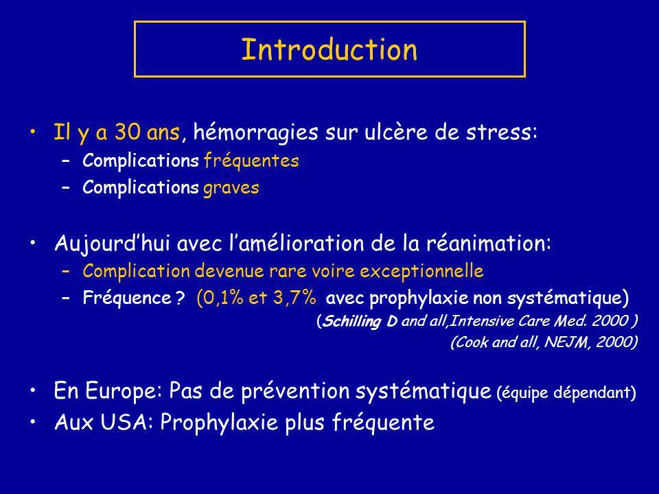 1.Réa neuro, 3fois 50 patients, pas dintérêt,(Misra, JFNS 2005) 2.Etude en double aveugle, 3 fois 75 patients, aucun intérêt à traiter.(Kantorova I Hepatogastroenterology.