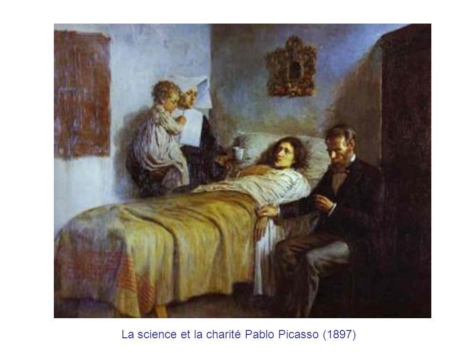 La science et la charité Pablo Picasso (1897)