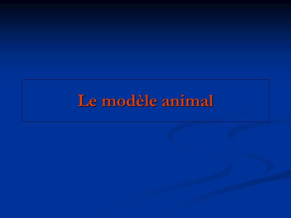Le modèle animal