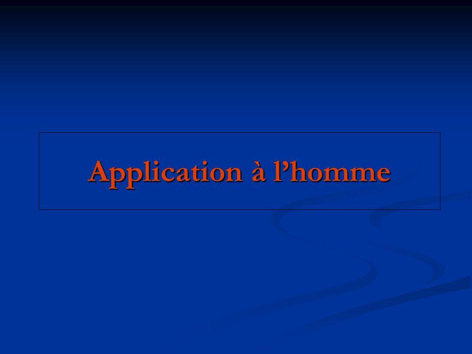 Application à lhomme