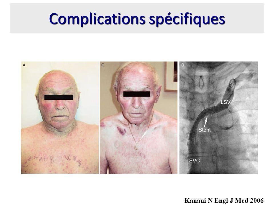Complications spécifiques Kanani N Engl J Med 2006