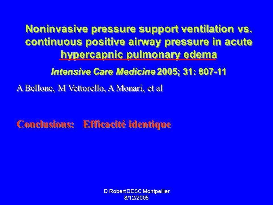Noninvasive pressure support ventilation vs.