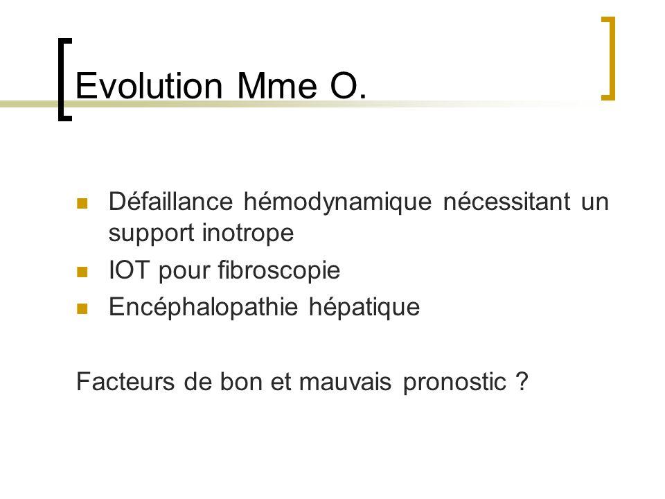 Evolution Mme O.