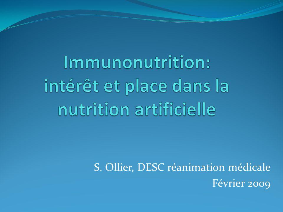S. Ollier, DESC réanimation médicale Février 2009