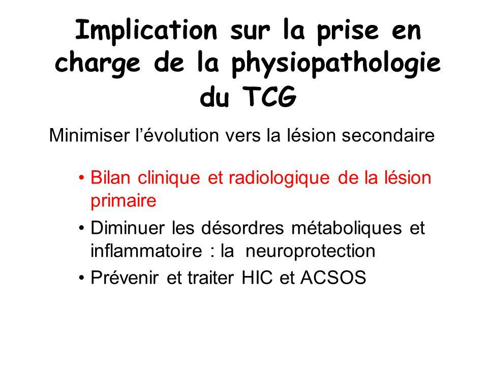Prévention des ACSOS le maintien de l état hémodynamique le maintien de lhématose la sédation le drainage du LCR l osmothérapie l hypocapnie les barbituriques la chirurgie