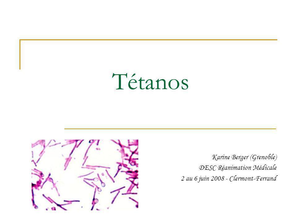 Contrôle du syndrome dysautonomique BZD : instabilité neurovégétative, α et β bloquants : labétalol (Trandate®), Atropine : doses élevées 100 mg/h, Opiacés : morphine, fentanyl et rémifentanil, Beecroft, Br J Anaesth 2005 Clonidine (Catapressan®) : non préconisée, Magnésium.