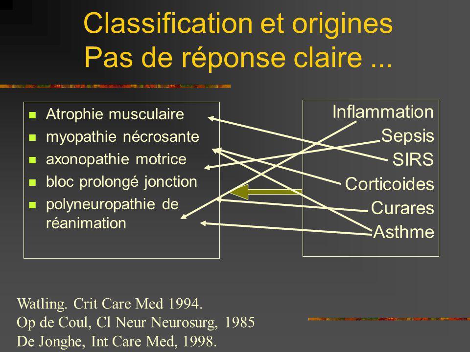 Classification et origines Pas de réponse claire...