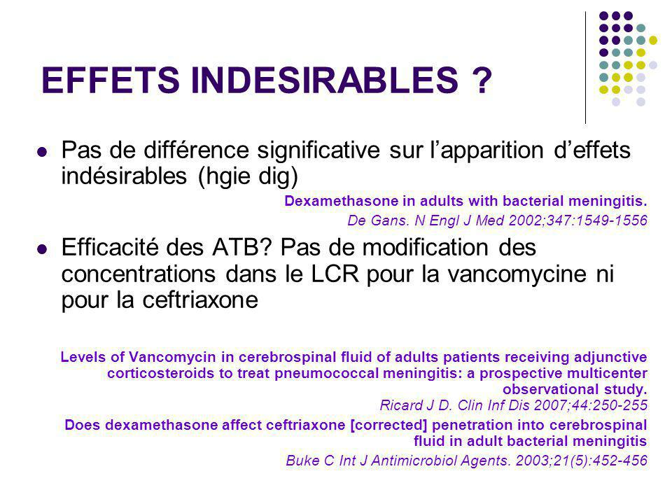 EFFETS INDESIRABLES .