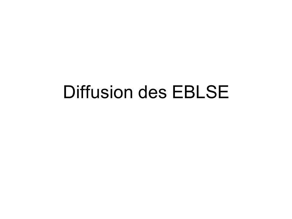 Diffusion des EBLSE