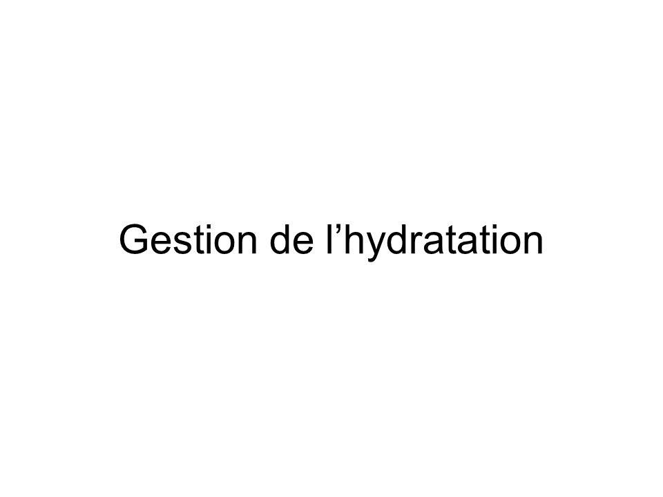 Gestion de lhydratation