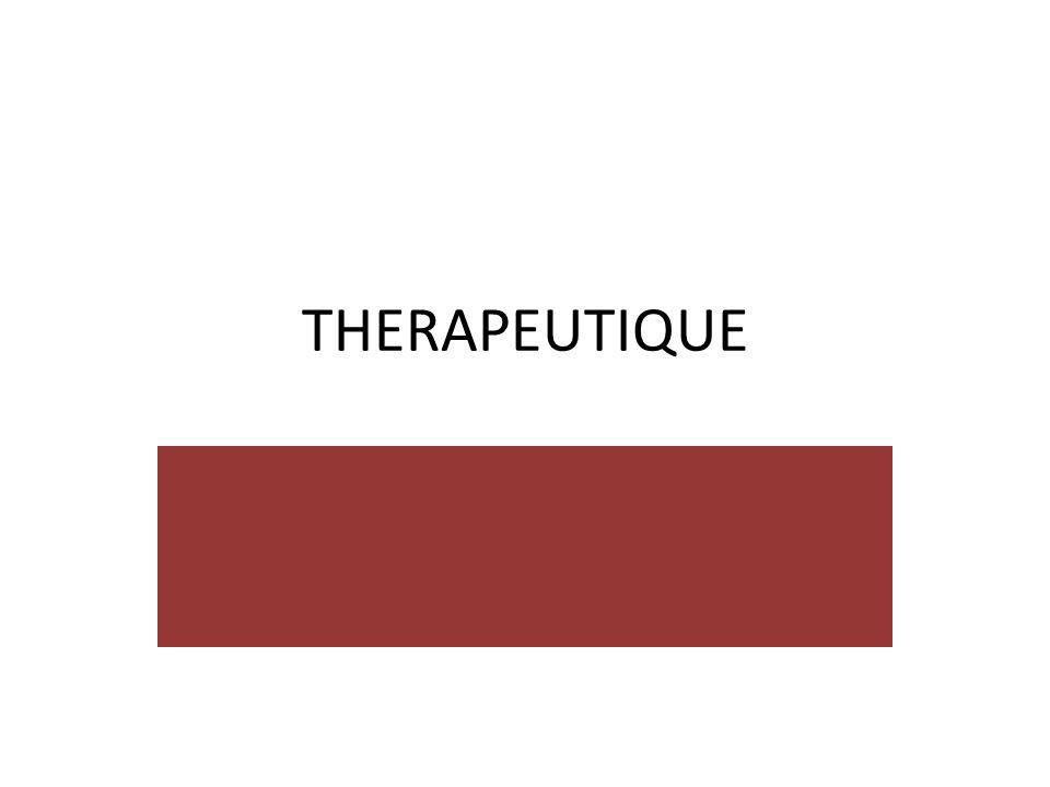 THERAPEUTIQUE