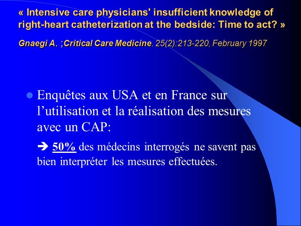 Patients en choc cardiogénique /insuffisance cardiaque terminale.