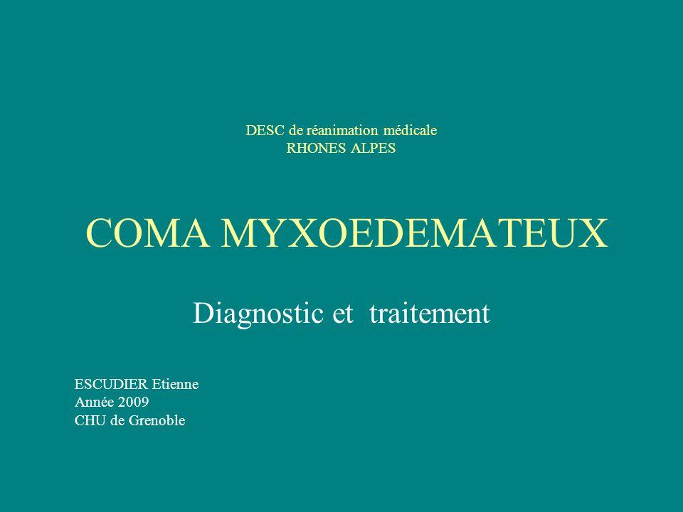 Etiologies 1°) primaires : (atteinte de la glande, TSH élevée) - Auto-immune : Hashimoto, post partum - Congénitale : rare, contexte.