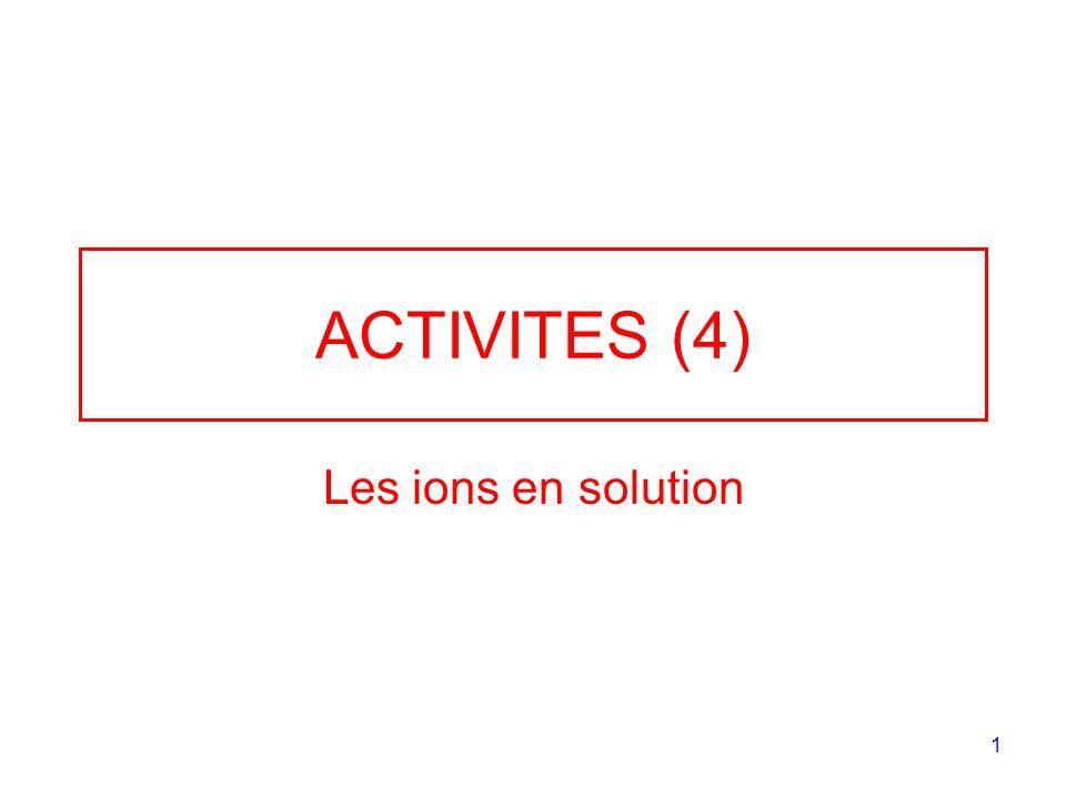 2 Exercice 1 1.Le pH dune solution dacide chlorhydrique est 1,8.