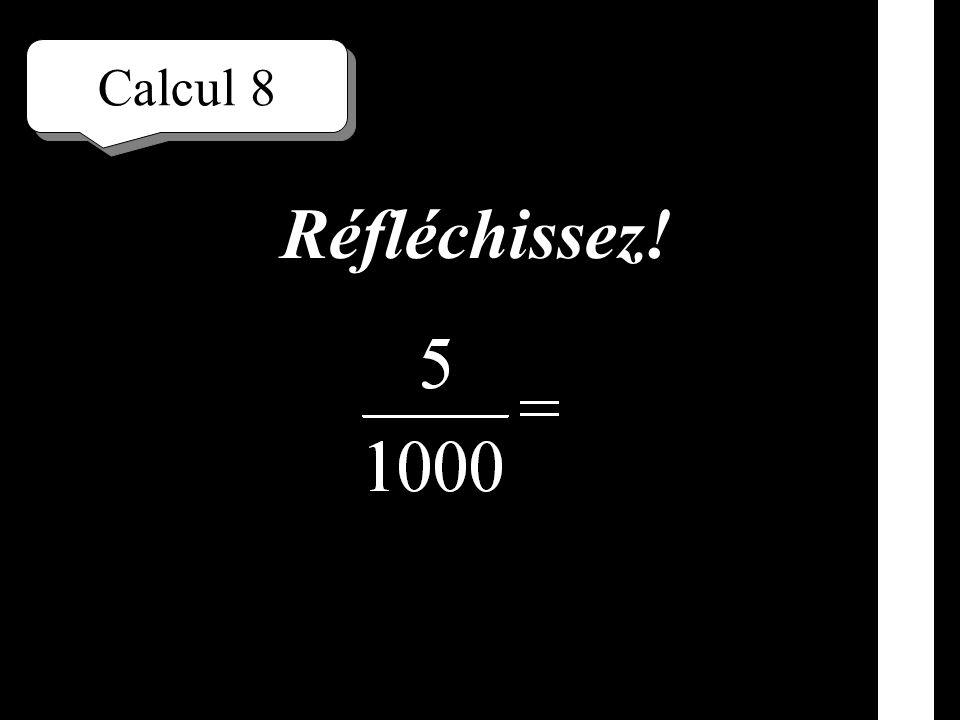 Calcul 7 Écrivez!