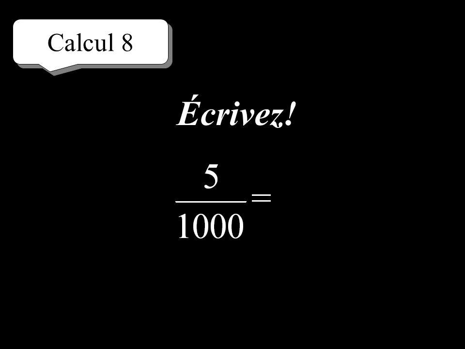 Calcul 8 Réfléchissez!