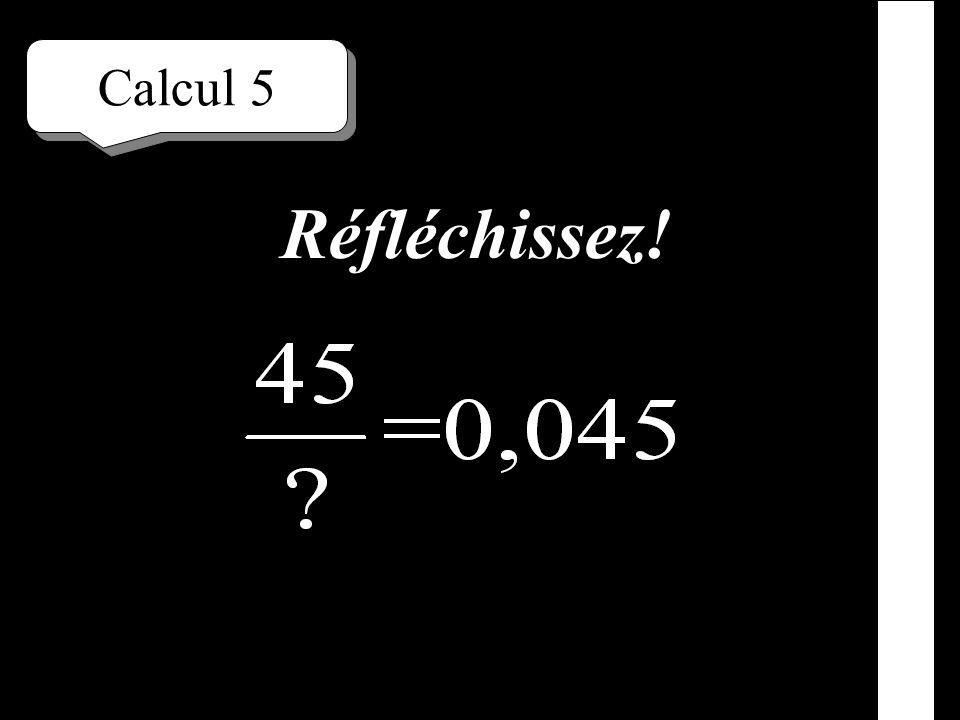 Calcul 4 Écrivez!