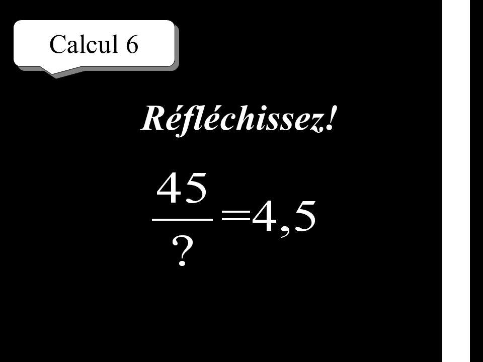 Calcul 5 Écrivez!