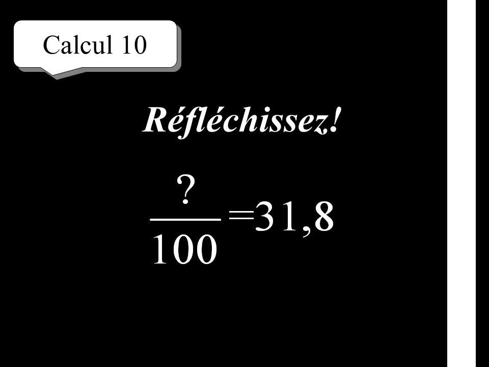Calcul 9 Écrivez!