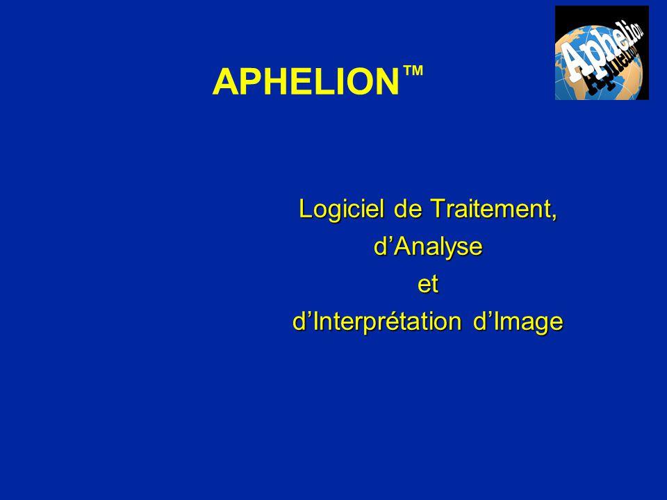 n Version Développeur et Run-Time n Windows 95, 98, 2000 & NT n Interface pour cartes d acquisition n Interface et documentation multilingues n Interpréteur Visual Basic n Cours de Vision (optionnel) APHELION