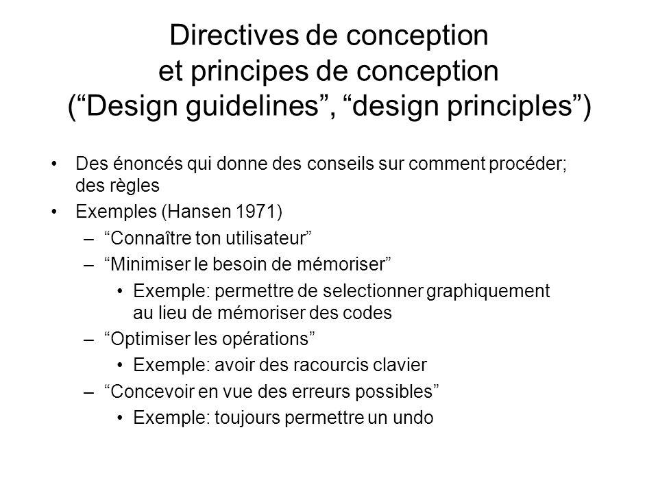 Dautres exemples … Rubinstein et Hersh (1984) –.....