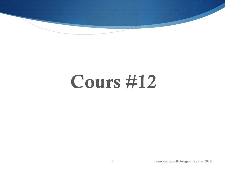 Les phaseurs (5) Capacitance dans le domaine fréquentiel 17 Jean-Philippe Roberge - Janvier 2014