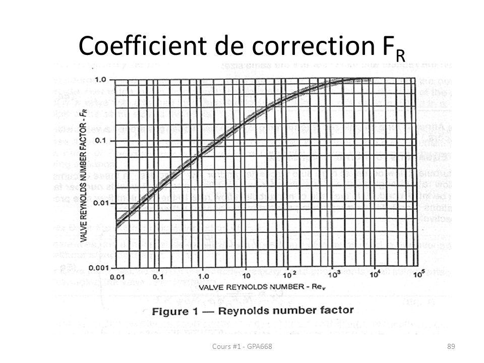 Coefficient de correction F R Cours #1 - GPA66889