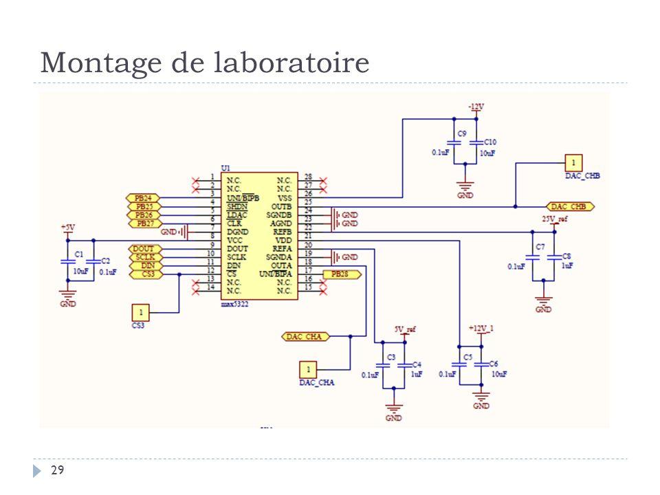 Montage de laboratoire 29