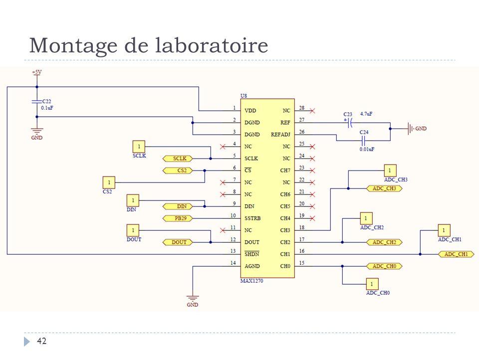 Montage de laboratoire 42