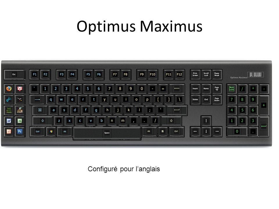 Optimus Maximus Configuré pour langlais